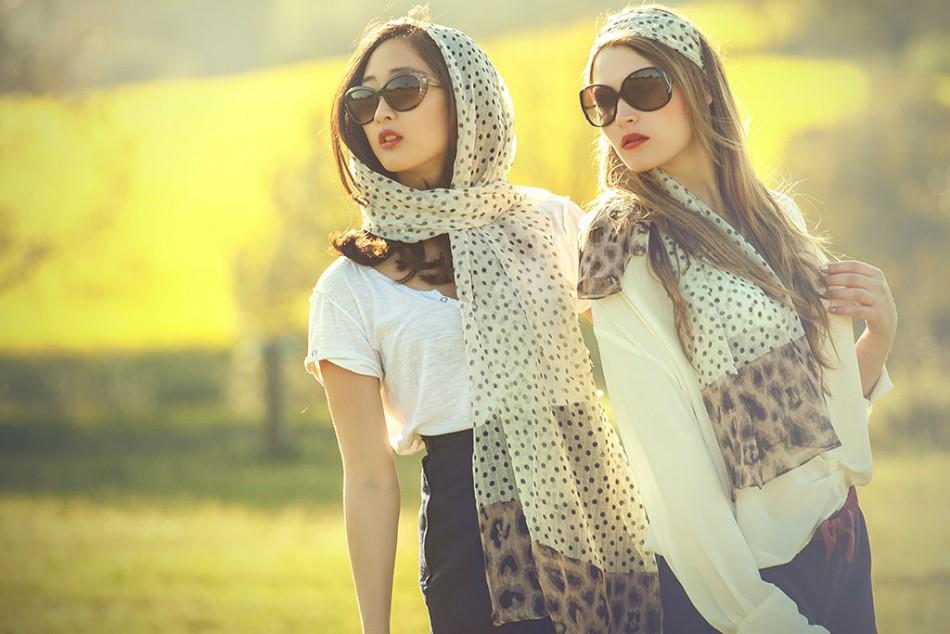 Cina Jang & Vicky Liepkova